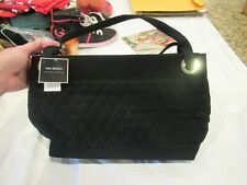 Vera Bradley black quilted satchel/purse/handbag, NWT