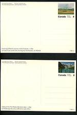Postal Stationery Canada H&G #217 UNI #UX109B Complete SET OF 90 views 1972