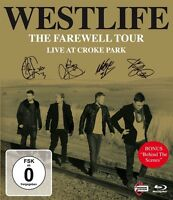 WESTLIFE - THE FAREWELL TOUR: LIVE AT CROKE PARK  BLU-RAY NEW+