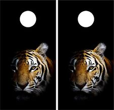 TIger Jungle CORNHOLE WRAP SET High Quality Vinyl Board DECAL