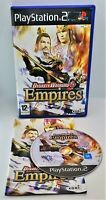 Dynasty Warriors 5: Empires Video Game for Sony PlayStation 2 PS2 PAL TESTED