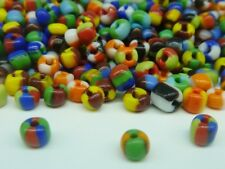 50g Colours Mix Seep Glass Seed Beads Size 6/0 4mm Jewellery Making Craft