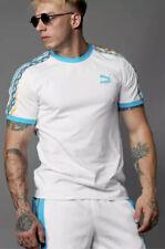 Puma X Coogi Archive T Shirt T77 White Blue Atoll Tl36765 Us Mens Sz Small