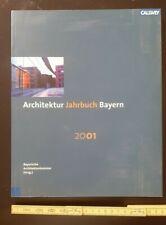 Architektur Fachliteratur antiquarisch ARCHITEKTUR JAHRBUCH Bayern 2001 Callwey