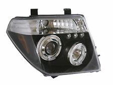 Black LED Projector Headlights for Nissan Navara D40 / Pathfinder headlamps NEW