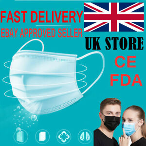 20X Premium Quality Face Mask Breathable Respirator Mouth Nose Protection Masks