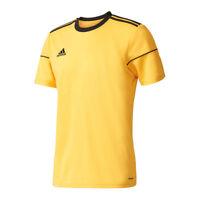 Adidas Squadra 17 de Manga Larga Camiseta Negro Blanco   eBay