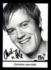 Christian vom Hofe Autogrammkarte Original Signiert # BC 93310