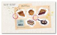2019 Canada 📭🥧🎂 SWEET CANADA Souvenir Sheet 🥧🎂 First Day Cover; FDC 📬