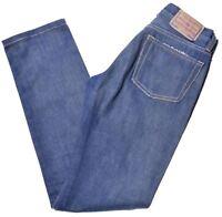 DIESEL Womens Jeans W25 L31 Blue Cotton Slim  HF07