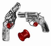 ONE Micro Holster Trigger Stop For Ruger SP101 GP100 & Super Redhawk Red s18