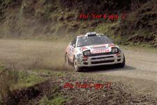 Juha Kankkunen Toyota Celica Turbo 4WD New Zealnd Rally 1994 Photograph 5