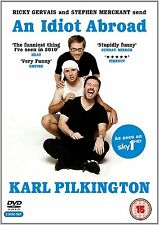 Karl Pilkington An Idiot Abroad Complete Series 1 2 DVD Set (Ricky Gervais) SKY