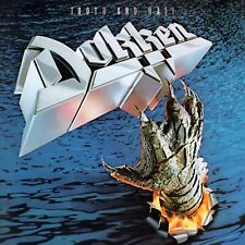 DOKKEN Tooth and Nail BANNER HUGE 4X4 Ft Fabric Poster Tapestry Flag album art