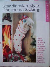 Christmas  Socking Pattern from The Art of Knitting Magazine