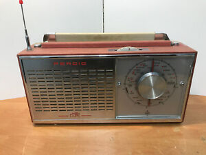 Vintage Rare Perdio PR110 Grovesnor Transistor Radio Tested Working