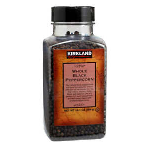 Kirkland Signature Whole Peppercorn Black Pepper 14.1 oz