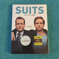 Suits: Season One (DVD, 2012, 3-Disc Set, Widescreen) Brand New Sealed