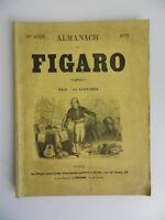 Xixth Old Almanach Figaro 1873