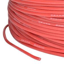 Silikonkabel AWG 22 0.34 Qmm hochflexibel Supersoft rot PartCore 110032