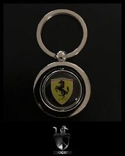 Novelty Collectable FERRARI Spinning Metal Key Ring.