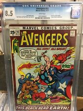 Avengers #93 cgc 98.5 white pages