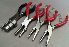 3 PASSO Wrap N RUBINETTO FILO LOOPING Pinze Jewelry cauzione realizzare utensili 11 Taglie 4 PZ