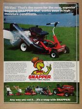 GA Snapper mowers Serial No decal 1979 and back McDonough