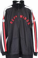 NWT Detroit Red Wings Hockey Jacket Men's XL NHL CCM Classic Logo Track Jacket