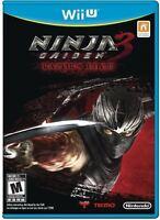 Ninja Gaiden 3: Razor's Edge  (Wii U) BRAND NEW