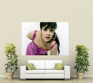 Lily Allen Giant 1 Piece  Wall Art Poster M132