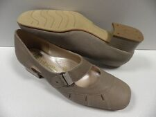 Chaussures OMBELLE sicile marron FEMME taille 36.5 escarpins ouvert France NEUF