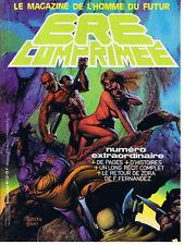 ERE COMPRIMEE N° 13 1981 MAGAZINE DE L'HOMME DU FUTUR TRES BON ETAT