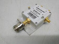 Power Splitter, Mini-Circuit ZA4PD-4-S+, 2-4.2 GHz,50Ω 4 Ways DC Pass +N-Adapter