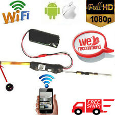 MINI WIFI IP DV P2P Buttons Screw Module Spy DVR Camera TF For Android iPhone HM