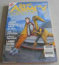 ISAAC ASIMOV SCIENCE FICTION MAGAZINE N°6..Ed US..LARRY NIVEN..SPINRAD.DAVIDSON