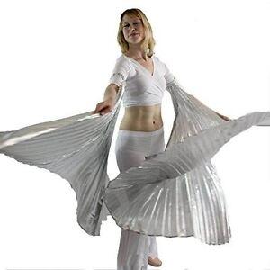 Danzcue Silver Hand-held Angel Worship Angel Wings