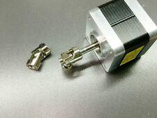 "6.35mm x 6.35mm 1/4"" Shaft Joint Coupler Stepper DC Motor RC Model U-Joint"