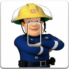Fireman Sam Light Switch Vinyl Sticker Decal for Kids Bedroom #176
