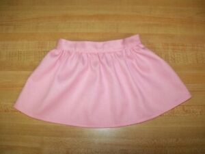 """PINK TWILL SHORT SKIRT for 16-17-18"""" CPK Cabbage Patch Kids"""