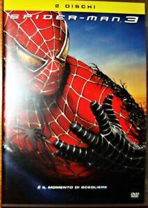 SPIDER-MAN 3 di Sam Raimi - Edizione Speciale 2 DVD - Usato pari al nuovo