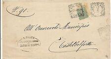 P7730   Mantova, San Giorgio di Mantova, ann. tondo riquadrato, 1901