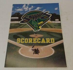 Beloit Snappers Wisconsin Baseball Scorecard Program - Midwest League