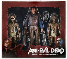 """NECA Ash Williams vs Evil Dead Demon spawn 7"""" Scale Action Figure - New in box"""