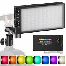 Pixel G1S Rgb Video Light, Built-In 12W Rechargeable Battery Led Camera Light 36