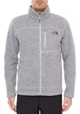 THE NORTH FACE NWT Gordon Lyons Full Zip Thick Fleece Jacket Coat Grey Heather L
