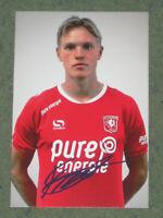 FINNLAND Fredrik Jensen (Twente) FC Augsburg OHNE UNTERSCHRIFT