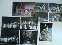 Lote De 26 Foto Ópera Del Grande Teatro De Burdeos 1974 Para 1980