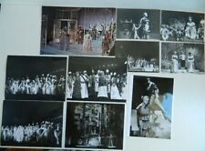 Lot de 26 photo Opéra du Grand théâtre de BORDEAUX 1974 à 1980