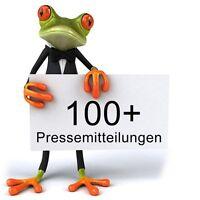 100 DEUTSCHE Backlinks aus Presseportalen + Pressemitteilung - SEO - DoFollow